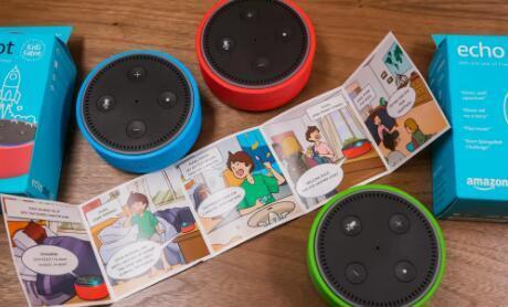 亚马逊推出EchoDot将Alexa带给孩子们