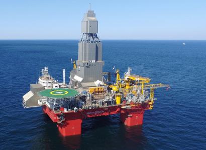 自主知识产权的首套深水钻井防台风隔水管悬挂系统海试成功