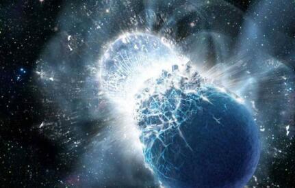 探测到可能来自两颗碰撞中子星的引力波