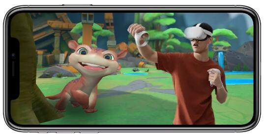 OculusQuest将获得iPhone通知增加了VR共享技巧