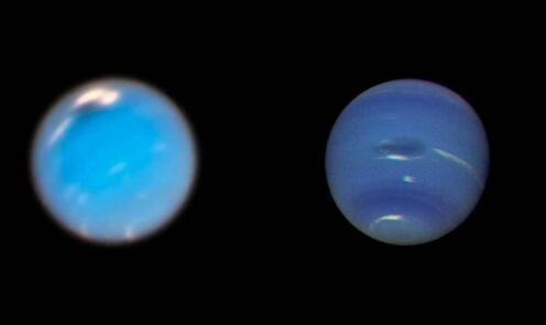 宇航局使用哈勃望远镜追踪海王星上的大规模风暴