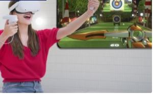 韩国电信运营商SK电讯宣布其为Facebook公司的OculusQuest开发的VR体育游戏