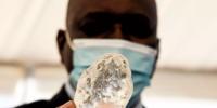 矿工称在非洲发现地球上第三大钻石