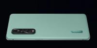 OPPOFindX2Pro竹青配色版的后盖其实是素皮材质