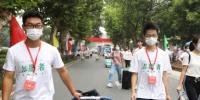 安徽医科大学在合肥站合肥南站共安排82名志愿者