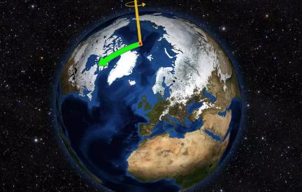 气候变化一直在改变地轴至少30年