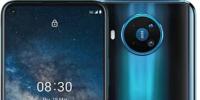 诺基亚8.3是一款定位中端的产品这部手机配备6.81英寸20:9比例的大屏