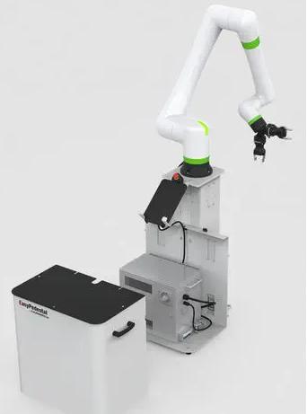 EasyRobotics的底座用于固定任何协作机器人品牌