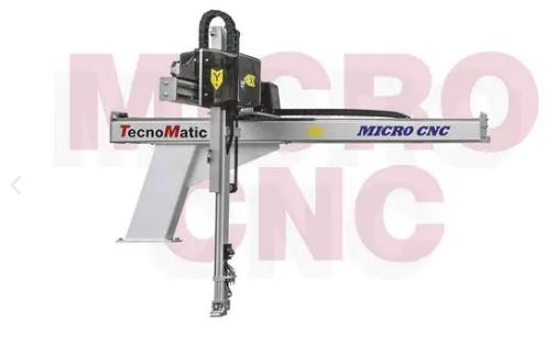 MICROCNC机器人以灵活且经济的方式响应小型注塑机的大多数需求