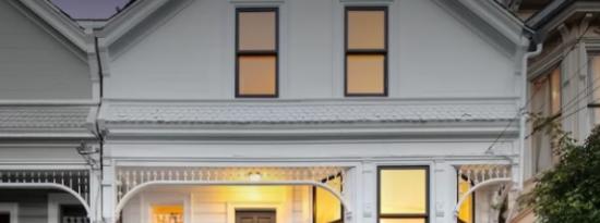 优雅的维多利亚式住宅将旧金山的历史魅力与现代生活的现代便利融为一体