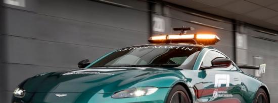 阿斯顿马丁标榜官方F1安全2021年医疗车