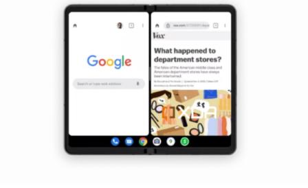 谷歌安卓12.1在PixelFold之前带来了改进的可折叠手机体验