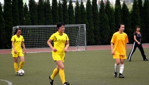 合肥工业大学有支一群英姿飒爽女子足球队
