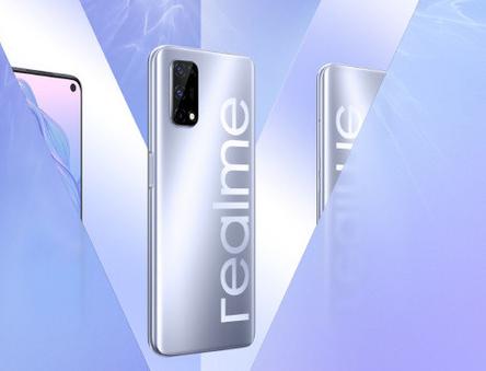 realme官方公布了真我V5手机的外观图