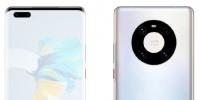 华为Mate40系列四款手机的后置摄像头排列方式